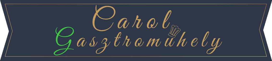 Carol Gasztroműhely logo